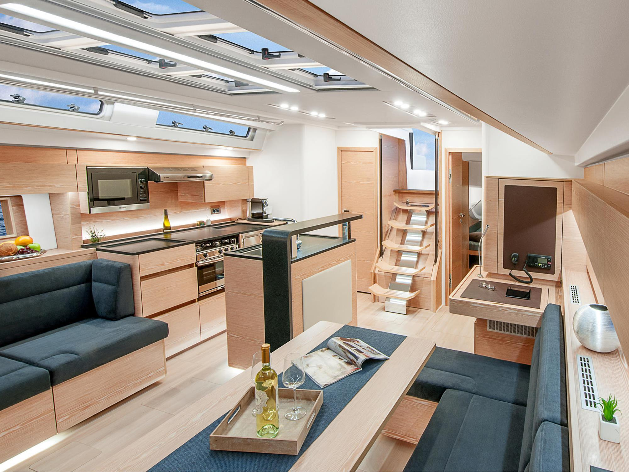 Galley Design And Equipment Article International Boat