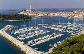 Rovinj Marina in Istria