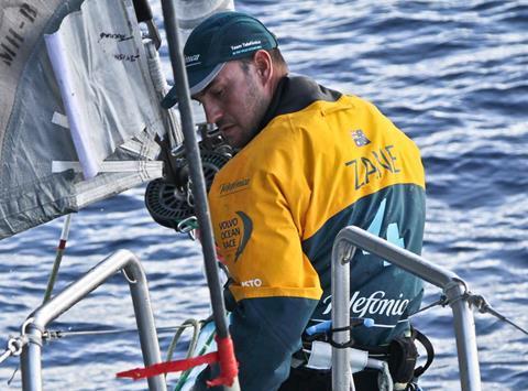 Volvo Ocean Race Sailor Zane Gills