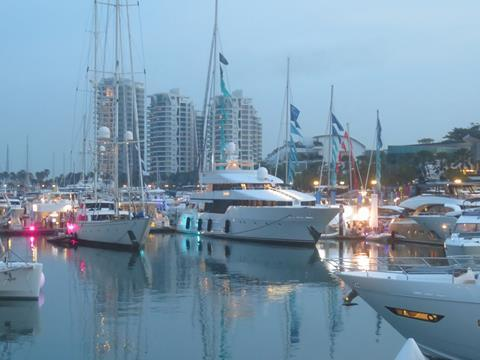 There was a good geographical spread of visitors at this year's Singapore Yacht Show