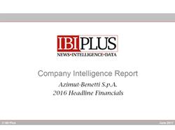 Company Intelligence Report