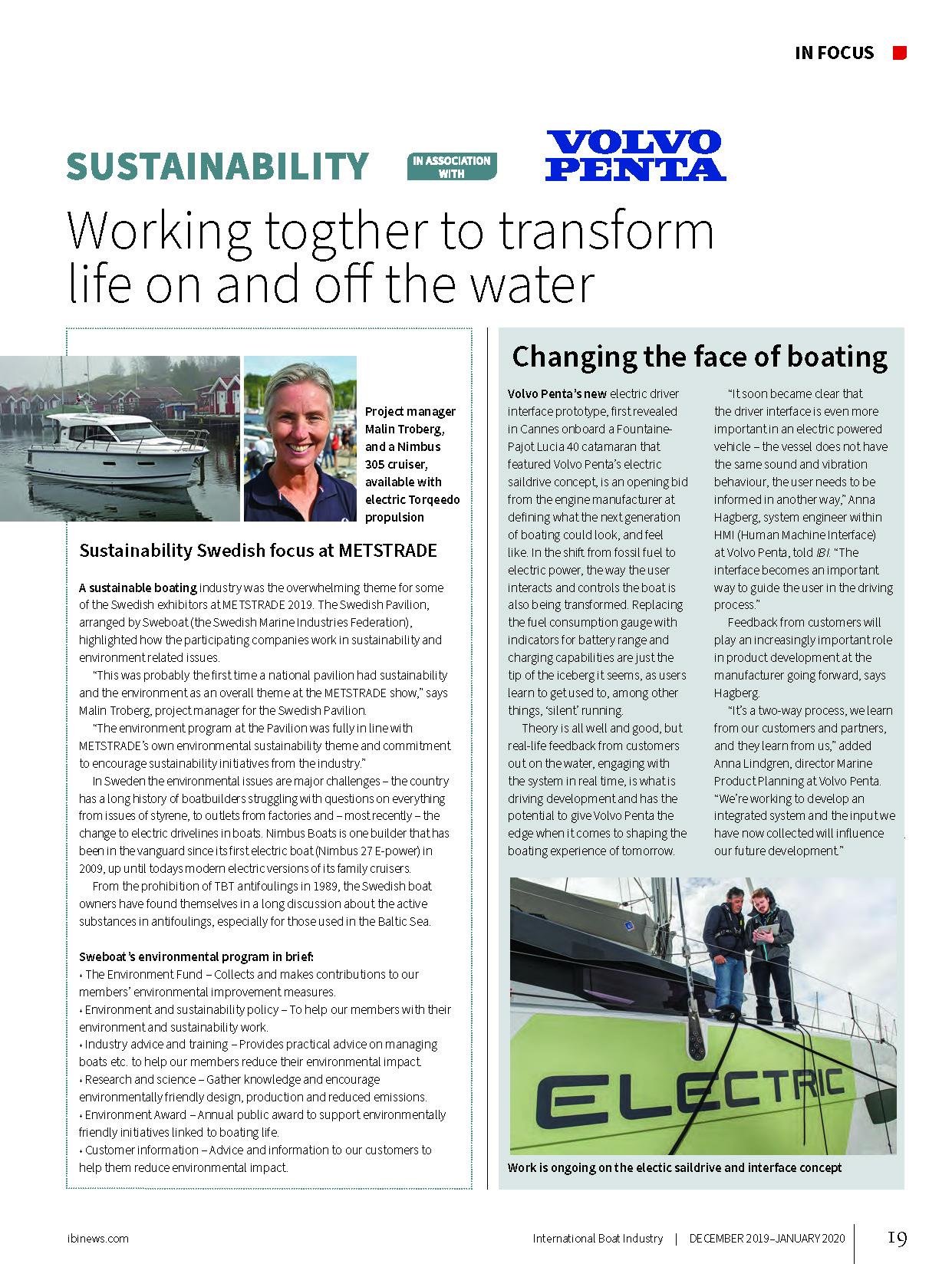 Sustainability_IBI magazine DecJan2020 Issue