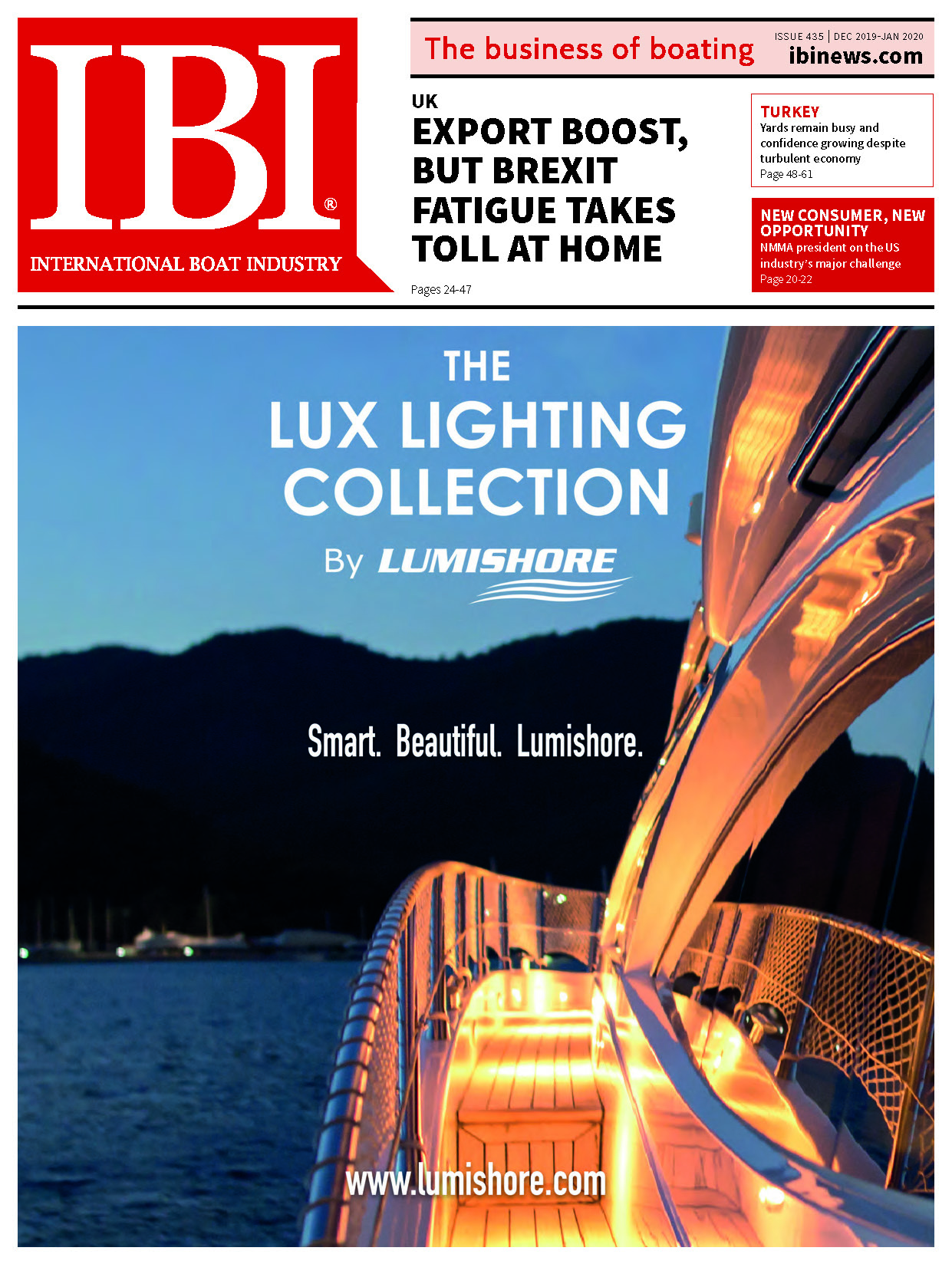 IBI magazine December-January issue cover