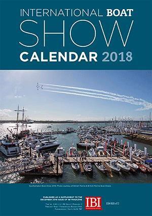 IBI Show Calendar 2018